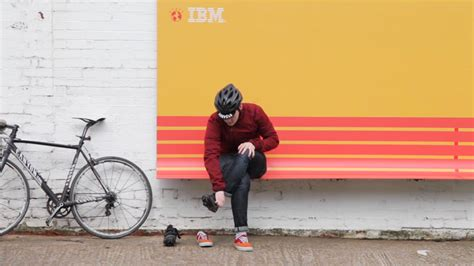 designboom advertising street furniture billboards by ibm ogilvy france