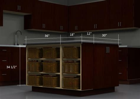 kitchen island cabinets ikea an affordable ikea kitchen island with shelves and baskets