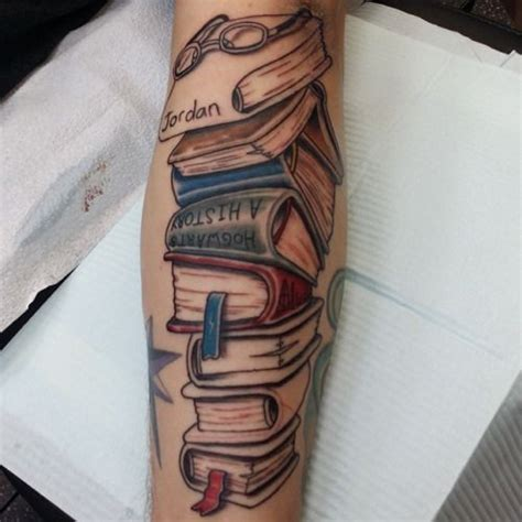 stack of books tattoo 64 best images about ideas on me