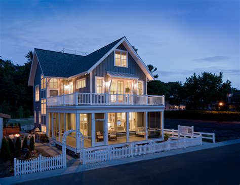 beach style home plans wrap around porches time to build