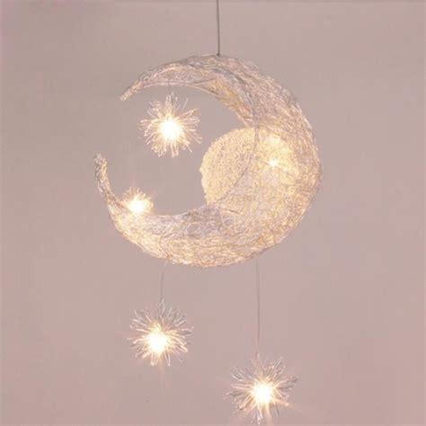 Superbe Chambre Enfant Complete Pas Cher #6: Suspension-decorative-lune-etoile-lustre-en-alumin.jpg