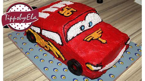 cars kuchen selber backen cars torte selber machen anleitung lightning mcqueen f 252 r