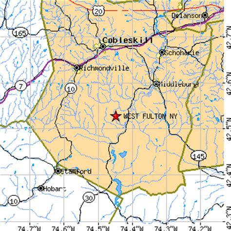 futon ny west fulton new york ny population data races