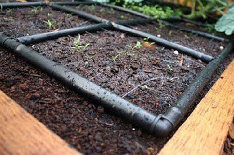 Garden Watering Systems by Raised Garden Irrigation System The Garden Grid 4x6