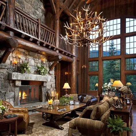 log cabin living room pictures to pin on pinterest pinsdaddy cabin living room my ultimate log cabin pinterest