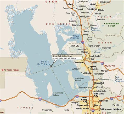map world slc ut great salt lake map image search results