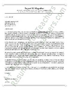 principal cover letter sle letter of recommendation for assistant principal