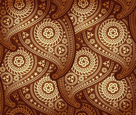 paisley pattern vector set of ornate paisley seamless pattern vector 01 vector