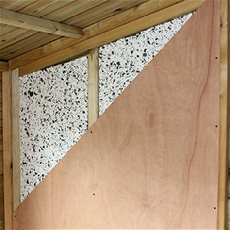 Wall Insulation For Sheds by Walls Floor Surrey Shed Manufacturer Based In Ripley