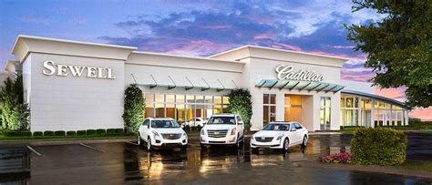 Sewell Cadillac Grapevine by Sewell Locations Serving Dallas Houston San Antonio Tx