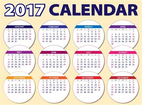 Calendario 2017 Todos Los Meses Calendarios 2017 Bonitos