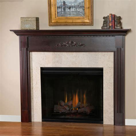 allegheny traditional wood fireplace mantel surrounds