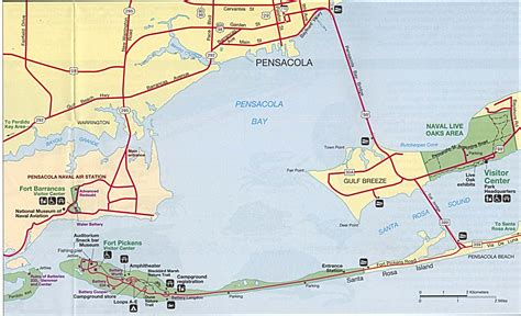 pensacola map florida maps perry casta 241 eda map collection ut library