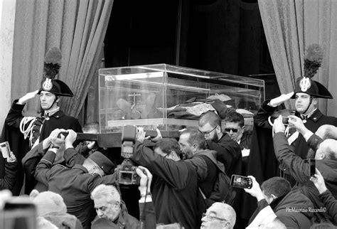 by maurizio moro photographrafy pinterest the procession of the body of st padre pio ph maurizio
