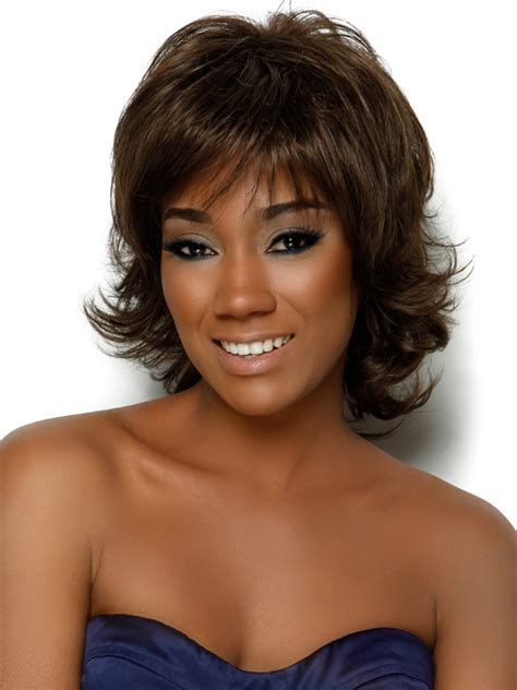 picture of shoulder length hair on african american women up to the minute medium length hairstyles for curly hair