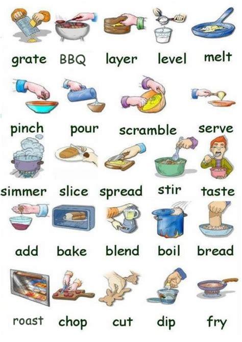 vocabulario ingles cocina vocabulario para cocinar ingl 233 s espa 241 ol con pdf