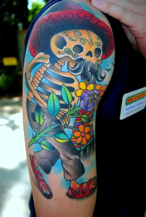 colorful skull tattoo designs 100 colorful designs for and tattoos era