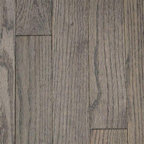 Solid Oak Hardwood Flooring Blue Ridge Hardwood Flooring Oak Shale 3 4 In Thick X 2 1 4 In Wide X Varying Length Solid