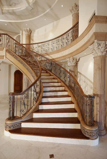 stylish mediterranean staircase designs  spice