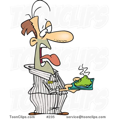Home Plate Baseball by Disgusted Cartoon Prisoner Holding A Plate Of Green Food
