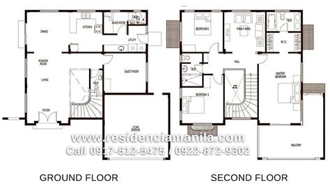 floor plan for two storey house in the philippines house floor plan philippines bungalow house design plans