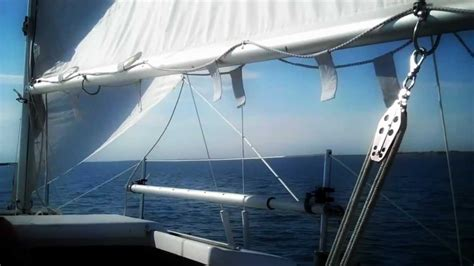 swing keel sailing sailing macgregor 26 swing keel youtube