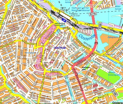 where is amsterdam on the map city map mapscd part 16