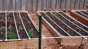 Self watering square foot garden diy youtube