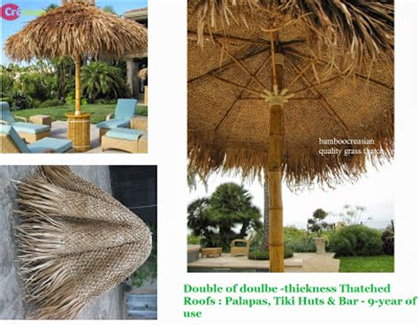 tiki hut roof construction quality bamboo and asian thatch tiki bars and huts