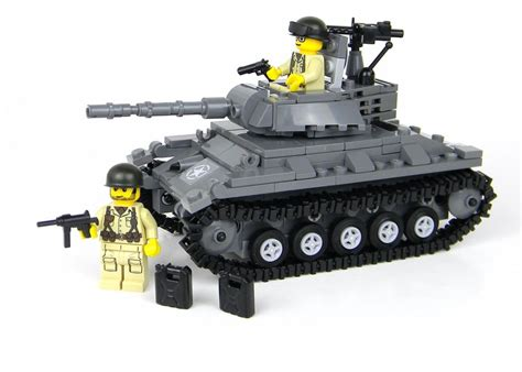 lego army tank deluxe us army chaffee tank war 2 complete set made