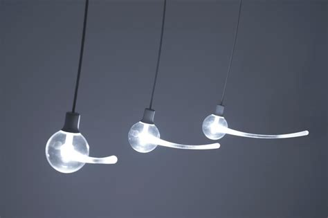 Cool Pendant Light Unique Pendant Light That Looks Like Swinging Swing Home Building Furniture And Interior