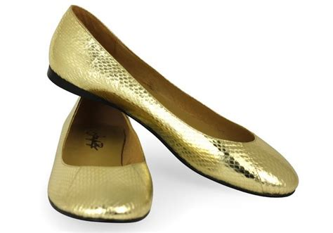golden flat shoes gold ballet shoes www shoerat