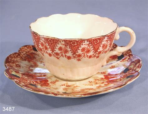 Floral Pattern Bone China Tea Cup And Saucer antique fluted floral pattern vintage bone china tea cup and saucer sold