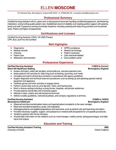 resume certification section sle certifications on resume clipground