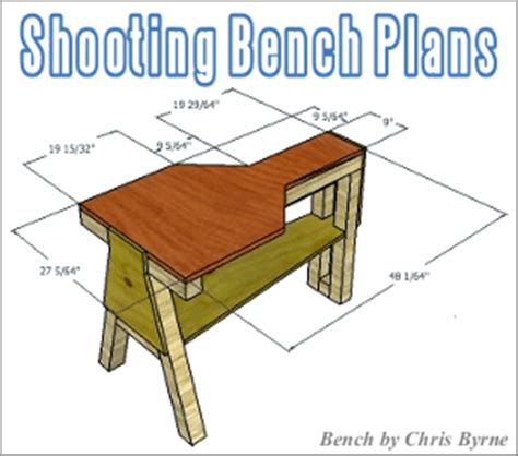 plans for a shooting bench shooting bench 171 daily bulletin