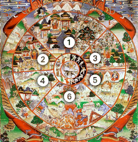sections of buddhism bhavachakra the wheel of becoming a free online course