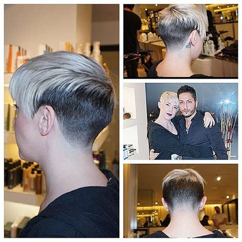 edgy haircuts salon hooked up my girl hairstylist tanyacamburn with a fade