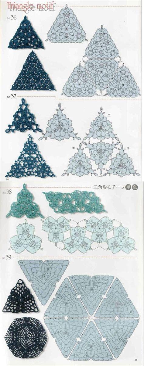 triangle pattern using c crochet triangle pattern