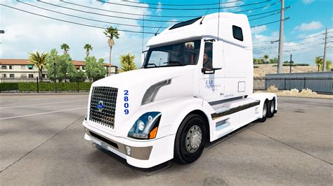 volvo trucks jobs skin b a h express truck volvo vnl 670 for american