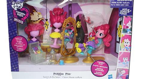 My Pony Minis Pinkie Pie Splashy Class Set Bcib9472 my pony equestria minis pinkie pie switch a