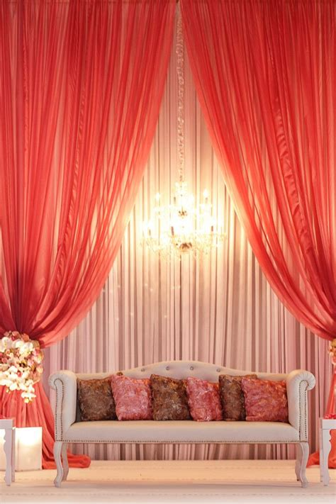 drape decoration back drape ideas for wedding reception day stages