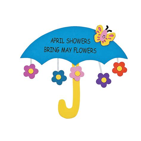 April Showers Brings May Flowers by April Showers Bring May Flowers Sign Craft Kit