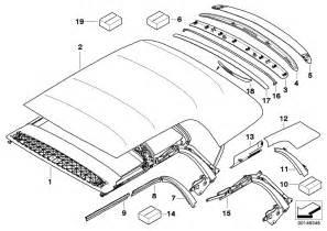 Mini Cooper Parts List Mini Cooper Convertible Parts Diagram Auto Parts Diagrams