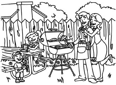 coloring pages of family picnic netart 1 place for coloring for kids part 28
