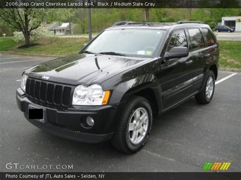 2006 Jeep Laredo Black 2006 Jeep Grand Laredo 4x4 Medium Slate