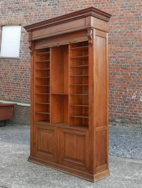 Louvered Cabinet Doors Louvered Door Cabinet In Mahogany And Solid Oak Circa 1900 For Sale At 1stdibs