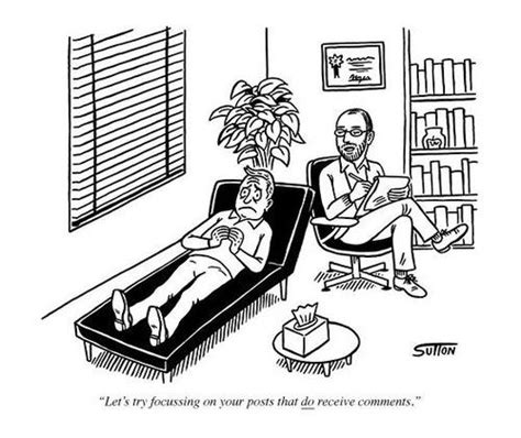 Blogger Therapist Cartoon ~ Funny Joke Pictures