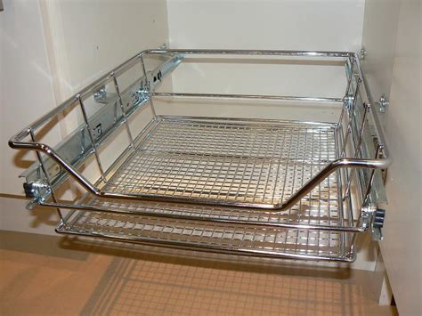Pull Out Basket pull out wire basket s for 600mm wide kitchen base units