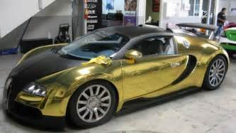 Bugatti Veyron Gold Plated 10 Luxurious Gold Plated Cars