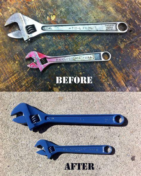powder coat your tools